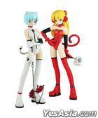 Evangelion : Ayanami Rei & Soryu Asuka Langley Glimlock! Mix Edition