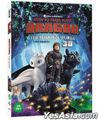 How To Train Your Dragon: The Hidden World (2D + 3D Blu-ray) (O-Ring + Booklet First Press Limited Edition) (Korea Version)