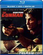 The Gunman (2015) (Blu-ray + DVD + Digital HD) (US Version)