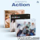 WEi Mini Album Vol. 3 - IDENTITY : Action (Wave + Roller + Ocean Version) + Poster in Tube