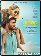Gifted (2017) (DVD + Digital HD) (US Version)