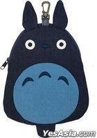 Studio Ghibli : Die-cut Denim Pouch My Neighbor Totoro (1) Big Totoro