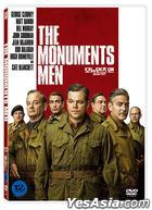 The Monuments Men (2014) (DVD) (Korea Version)