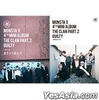 Monsta X Mini Album Vol. 4 - The Clan 2.5 Part. 2 Guilty (Random Ver.)