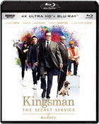 Kingsman: The Secret Service [4K ULTRA HD + Blu-ray Set] (Japan Version)