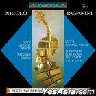 Nicolo Paganini: Lucca Sonatas Vol. 2 - 12 Sonatas for violin and guitar Op. 3 and Op. 8 (2 Vinyl LP)