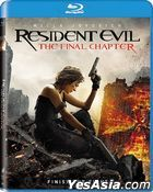 Resident Evil: The Final Chapter (2016) (Blu-ray) (US Version)