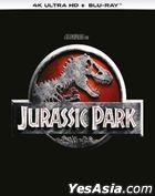 Jurassic Park (1993) (4K Ultra HD + Blu-ray) (Hong Kong Version)