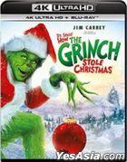 How the Grinch Stole Christmas (2000) (4K Ultra HD + Blu-ray) (Hong Kong Version)