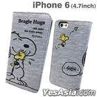 Peanuts : iPhone 6 Sweat Flip Case Hug (SNG-98A)