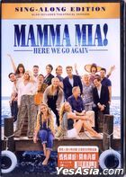 Mamma Mia! Here We Go Again (2018) (DVD) (Hong Kong Version)