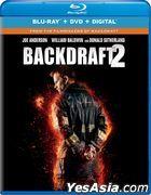 Backdraft 2 (2019) (Blu-ray + DVD + Digital) (US Version)