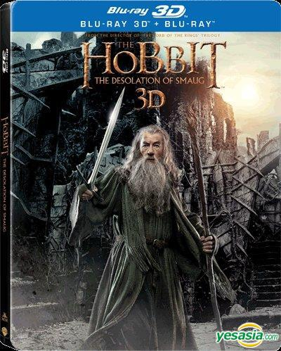 Yesasia The Hobbit The Desolation Of Smaug 2013 Blu Ray 4 Disc Steelbook 2d 3d Hong Kong Version Blu Ray Martin Freeman Richard Armitage Warner Home Video Hk Western World Movies