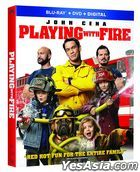 Playing with Fire (2019) (Blu-ray + DVD + Digital) (US Version)