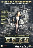 Molly's Game (2017) (DVD) (Hong Kong Version)