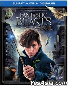 Fantastic Beasts and Where to Find Them (2016) (Blu-ray + DVD + Digital HD) (US Version)