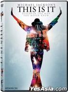 Michael Jackson: This Is It (2009) (DVD) (Single Disc Edition) (UK Version)