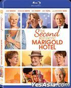 The Second Best Exotic Marigold Hotel (2015) (Blu-ray) (Hong Kong Version)