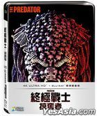 The Predator (2018) (4K Ultra HD + Blu-ray) (Steelbook) (Taiwan Version)