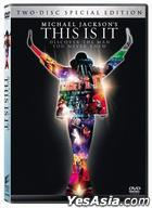 Michael Jackson's This Is It (2009) (DVD) (2-Disc Special Edition) (Hong Kong Version)