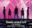 SHINee World 2014 -I'm Your Boy- Special Edition in Tokyo Dome (BLU-RAY) (Normal Edition)(Japan Version)