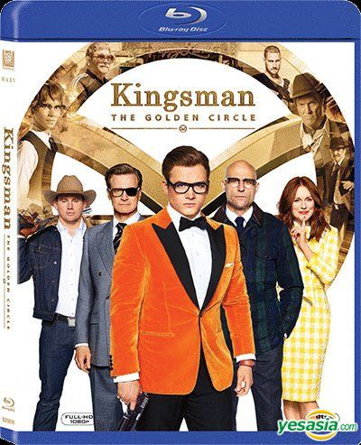 Yesasia Kingsman The Golden Circle 2017 Blu Ray Hong Kong Version Blu Ray Taron Egerton Colin Firth 20th Century Fox Western World Movies Videos Free Shipping