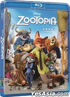Zootopia (2016) (Blu-ray) (Hong Kong Version)