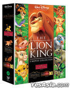 The Lion King Trilogy Box Set (DVD) (3-Disc) (Korea Version)