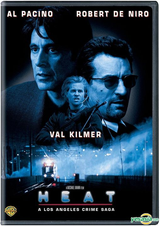 Yesasia Heat 1995 Dvd Us Version Dvd Al Pacino Robert De Niro Warner Entertainment Japan Western World Movies Videos Free Shipping
