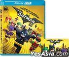 The LEGO Batman Movie (2017) (Blu-ray) (3D) (Hong Kong  Version)