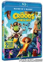 The Croods: A New Age (2020) (Blu-ray) (3D+2D) (Hong Kong Version)