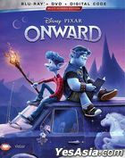Onward (2020) (Blu-ray + DVD + Digital Code) (US Version)