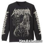 Dorohedoro : Devils Long Sleeve T-shirt (Black) (Size:L)