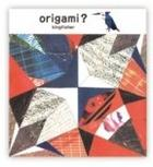 cochae : collage Series Origami Set Common kingfisher (5 Sheets Set)