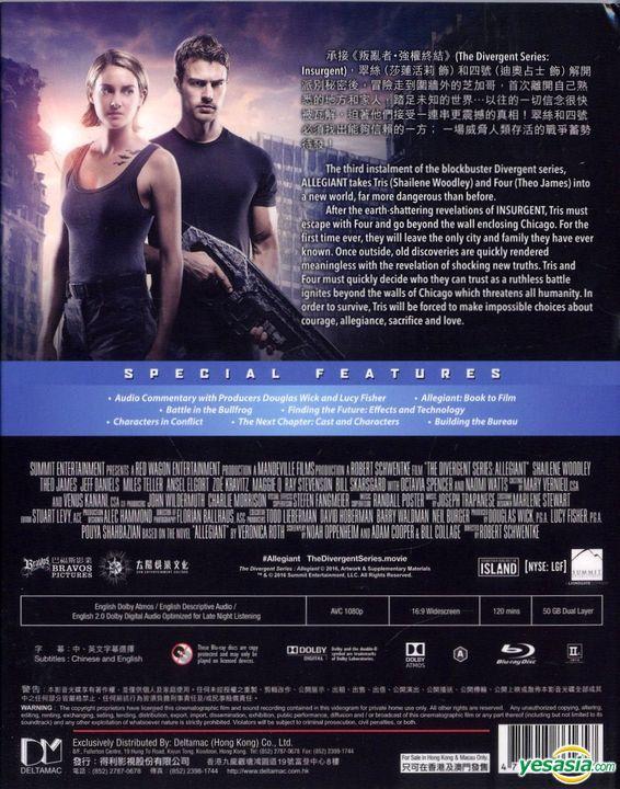 Yesasia The Divergent Series Allegiant 2016 Blu Ray Hong Kong Version Blu Ray Jeff Daniels Shailene Woodley Deltamac Hk Western World Movies Videos Free Shipping