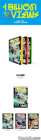 EXO-SC Vol. 1 - 1 Billion Views (PARADISE + OCEAN VIEW + PARK VIEW Version) + 3 Posters in Tube