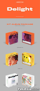 EXO: Baek Hyun Mini Album Vol. 2 - Delight (Cinnamon + Honey + Mint Version) (KiT Album) + 3 Posters in Tube