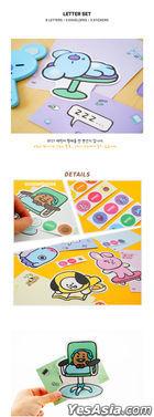 BT21 x Kumhong Fancy - Letter Set (CHIMMY)
