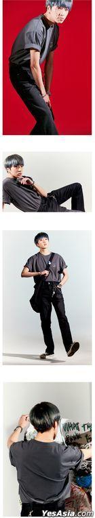 Winner - PLAC X MINO YOON Face T-shirt (Charcoal) (Medium)