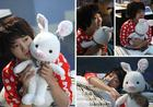 You're Beautiful - Pig Rabbit Doll (Large Size)