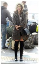Kim Hee Sun Style - Roving Twist Beanie (Black)