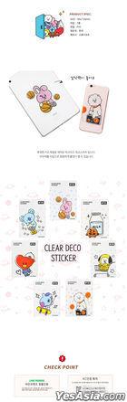 BT21 Clear Deco Sticker - SHOOKY