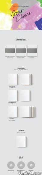 Seventeen Mini Album Vol. 8 - Your Choice (Random Version)