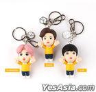 EXO Figure Keyring 2020 YOU WIN Edition (2020 Ribbon + Photo Card + Mirror) (Chen) (Type B / Pink)