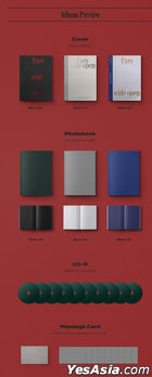 Twice Vol. 2 - Eyes wide open (Story + Style + Retro Version) + 3 First Press Gift Sets (Story + Style + Retro Version)