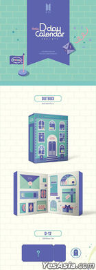 BTS Festa D-Day Calendar: Celebration of The 8th Anniversary