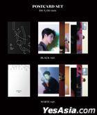 Ong Seong Wu Mini Album Vol. 1 - LAYERS (Black + White Version) + First Press Postcard Sets (Black + White Version)