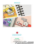BT21 PP Cover Notebook (RJ)