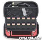 Nintendo Switch Lite Semi Hard Pouch (Coral) (Japan Version)