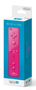 Wii Remote Con Plus (Pink) (Japan Version)
